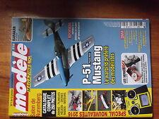 6µ?§ Revue Modele magazine n°774 Karakan Sunbird 60 Paramoteur Power 1.1 P-51