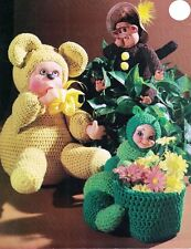 Delightful Dolls MM 651 A Charming Crochet Collection 1981 Pattern Booklet