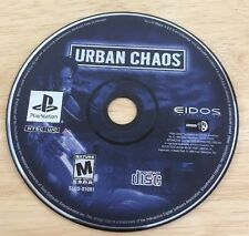 Urban Chaos (Sony PlayStation 1, 2000) Tested Disc Only