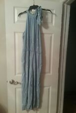 NWOT CLOTH & STONE POLKA DOT SLEEVELESS JUMPER Sz Small