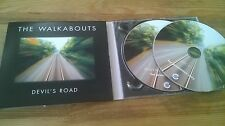 CD Indie The Walkabouts - Devil's Road 2 Disc (16 Song) Promo GLITTERHOUSE digi