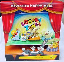 McDonald's Happy Meal LOONY TUNES CHARACTER PARADE Showcase Display Set MIB`96!