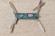 VICTORINOX Swiss Army Knife MIDNIGHT MANAGER Translucent Blue red LED 58mm