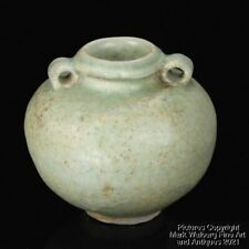 Sawankhalok Ware / Southeast Asian Celadon Glazed Jarlet, 15/16th Century  00006000