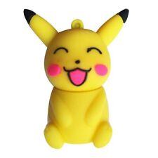 1pc 64GB Pokemon Yellow Pikachu USB Flash Thumb Drive USA Shipper