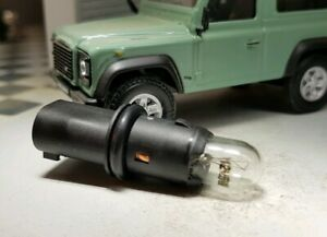 REPETIDORES LATERALES INTERMITENTES NEGRO LED para LAND ROVER DISCOVERY 3 2005/<