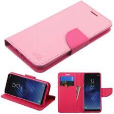 Fundas y carcasas Para Samsung Galaxy S8 color principal rosa de piel para teléfonos móviles y PDAs