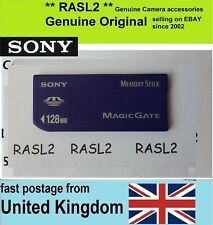 Genuine SONY MagicGate Memory Stick 128MB MSH-128 for Sony Camera,Camcorder