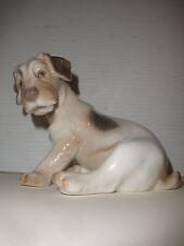 VINTAGE B&G BING & GRONDAHL 2027 DOG WIRE HAIRED TERRIER PORCELAIN  FIGURINE