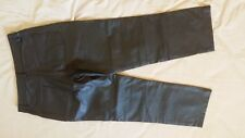 Quality Leather Men's Pants Trousers size 34/34