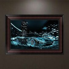 5D Diamond Embroidery Racing Car Painting DIY Cross Stitch Craft Home Wall Decor