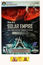 Sins of a Solar Empire: Collectors Edition PC Game RTS stratégie Espace Sci Fi