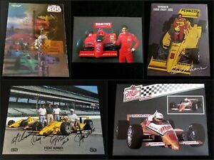 1988 Indianapolis / Indy 500 Program + Photo Cards - Race Winner Rick Mears