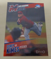 2013/14 COREY KIMES Australian Baseball League (ABL) - Melbourne Aces
