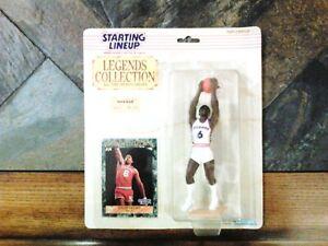 1989 Starting Lineup Basketball Great Julius Erving Philadelphia 76 ers