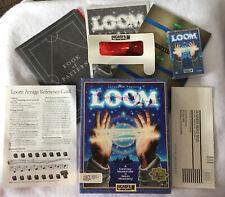 NO GAME Loom Amiga Box Manuals Inserts Cassette Original Lucasarts LucasFilm
