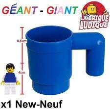 Lego - 1x tasse mug géant cup upscaled giant bleu/blue 853465 NEUF