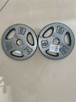 CAP 5 lb. X 2 (PAIR) Dumbbell Weight Plates FREE FAST SHIP