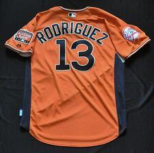 ef4f7c997 ALEX RODRIGUEZ 2007 MLB All-Star MAJESTIC Authentic Jersey Orange Yankees  Men L