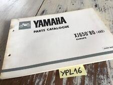 Yamaha XJ650 1980 4K0 XJ 650 650XJ catalogue pièces détachées parts list