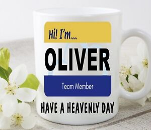 Personalised Name Superstore Cloud 9 Cup Mug Birthday Gift Christmas Present