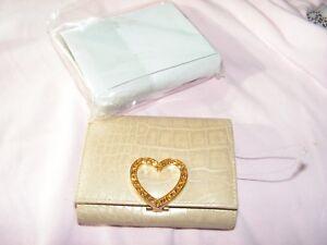 Lovcat Wallet Heart Clasp Standard Wallets Brown