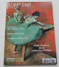Revue OBJET D'ART ESTAMPILLE 393 2004 Alechinsky Chateau de Glienicke PHILLIPS