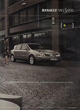 PUBLICITE ADVERTISING  2003    RENAULT      VELSATIS