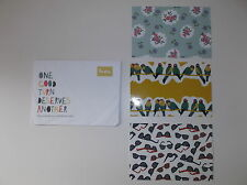Mini Boden Promotional Postcards set of 3 NEW Rare Hard to Find
