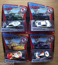 Disney PIXAR Cars 2 SILVER RACER 2nd set 4 metallic KMART COLLECTOR DAY 9 lot
