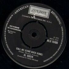 "AL GREEN call me (come back home)/what a wonderful thing love is uk 7"" WS EX/"