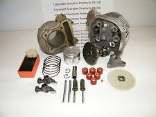 100cc Big Bore Kit, Performance Cam, Performance CDI GY6 50cc 139QMB, 50mm
