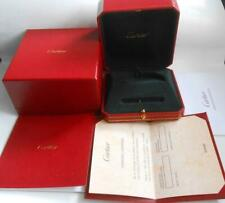 Original Cartier Bracelet Love Empty Box & Document In Blank