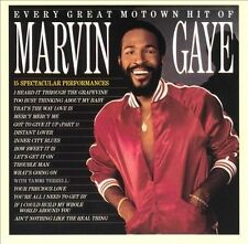 Every Great Motown Hit of Marvin Gaye - CD - Mercy Mercy Me, Trouble Man, More..