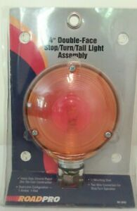 """NEW ROADPRO RP3802 4"""" DOUBLE FACE STOP/TURN/TAIL LIGHT ASSEMBLY"""