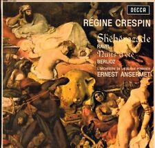 Ravel(Vinyl LP)Sheherazade/ Ernest Ansermet-Decca-LXT 6081-UK-1962-Ex/NM