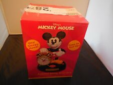 New ListingBrand New Telemania Mickey Mouse Animated Talking Alarm Clock