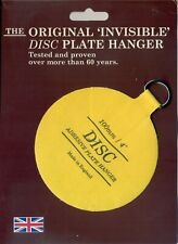 The Original Invisible Disc Plate Hanger - 100mm Size