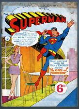 Australian SUPERMAN 31 DC Comics 1950's w Action Comics 163 cover UK