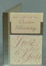 Birthday Greeting Card - For Those Born in October