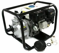 "NEW 6.5HP Gas Power Water Pump 3""  Semi Trash EPA GAS Engine water PUMP"