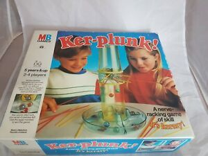 Ker-Plunk By MB Games Vintage Rare 1986 Skill And Action Game