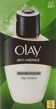 Olay SPF 15 Anti-Wrinkle Nature Fusion Moisturiser Day Fluid Lotion 100ml