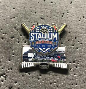 2014 NHL Stadium Series - Yankee Stadium (Islanders vs. Rangers) Hockey Pin