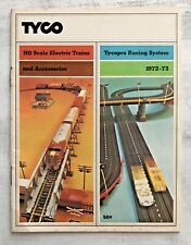 TYCO 1972-1973 HO Scale Electric Trains TYCO Pro Racing Car System Booklet