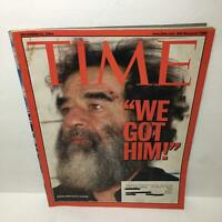 Time Magazine Dec 22 2003 We Got Him! Saddam Hussein