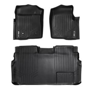 Maxliner 2009-2010 Fits Ford F-150 Super Crew Cab Floor Mats Complete Set Black