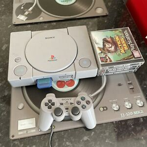 Sony Playstation 1 PS1 Console With 4 Games