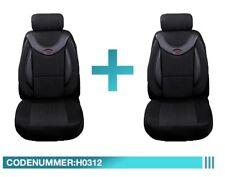Pisa//anthrazit VW T4 California Maß Sitzbezüge Schonbezüge Vordersitze