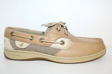 Sperry Top-Sider Womens Oxford Shoes Sz 6 M Tan Brown Leather Casual